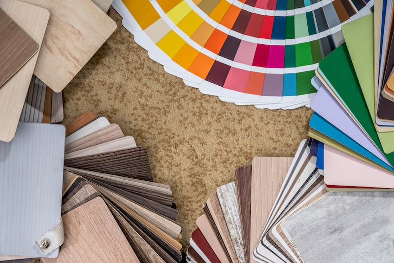 thin wood palette guide for interior design and flooring
