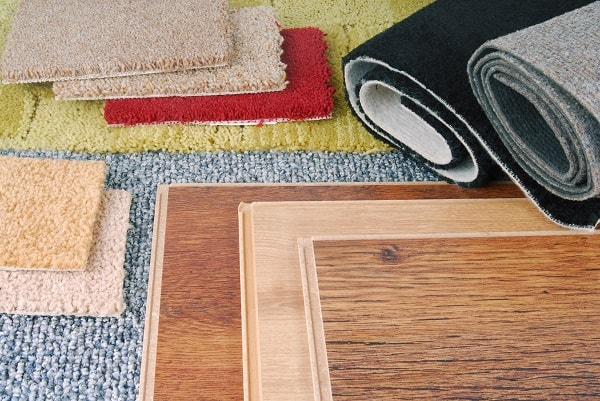 carpet and laminate flooring choices for interior